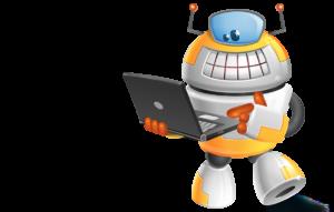 Criando seu site logo site robo1